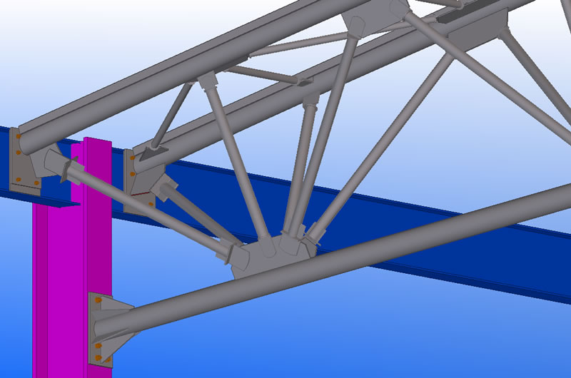 Tekla Modelling at Hambleton Steel